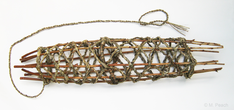 Decorative Woven Fish Trap