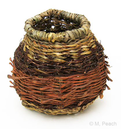 Rustic Twined Basket